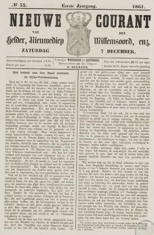 Nieuwe Courant van Den Helder 1861-12-07