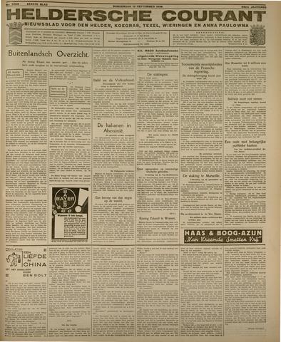 Heldersche Courant 1936-09-10