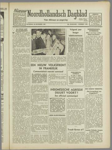 Nieuw Noordhollandsch Dagblad : voor Alkmaar en omgeving 1946-11-30