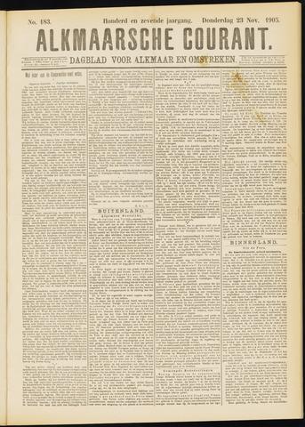 Alkmaarsche Courant 1905-11-23