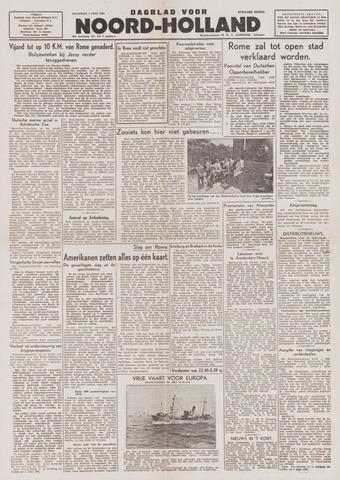 Dagblad Noord-Holland, Schager editie 1944-06-05