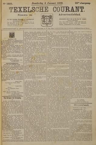 Texelsche Courant 1912