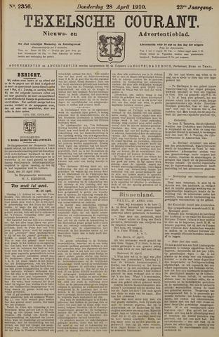 Texelsche Courant 1910-04-28