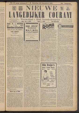 Nieuwe Langedijker Courant 1929-09-28