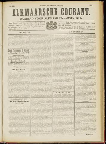 Alkmaarsche Courant 1911-11-06
