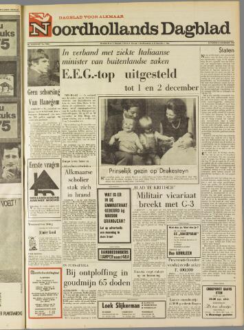 Noordhollands Dagblad : dagblad voor Alkmaar en omgeving 1969-11-08