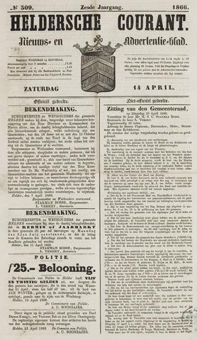 Heldersche Courant 1866-04-14
