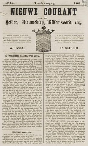 Nieuwe Courant van Den Helder 1862-10-15