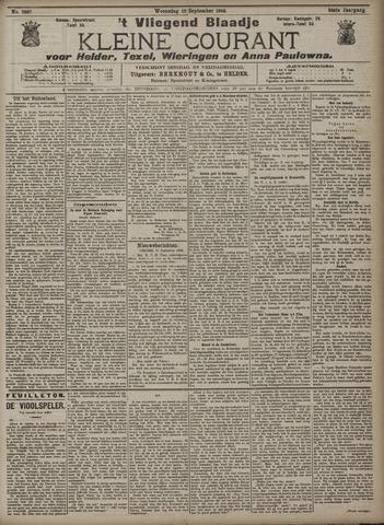 Vliegend blaadje : nieuws- en advertentiebode voor Den Helder 1906-09-12