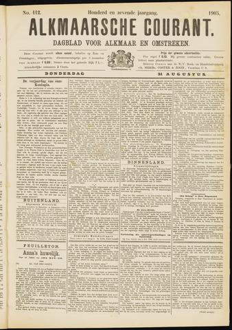 Alkmaarsche Courant 1905-08-31