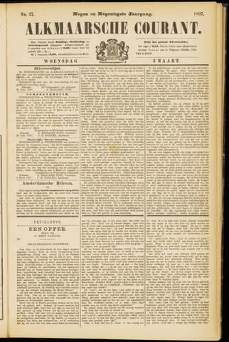 Alkmaarsche Courant 1897-03-03
