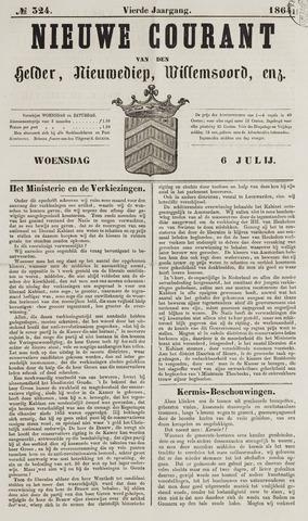 Nieuwe Courant van Den Helder 1864-07-06