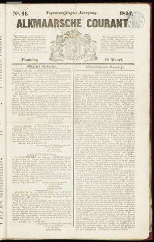 Alkmaarsche Courant 1857-03-16