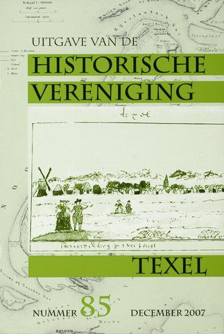 Uitgave Historische Vereniging Texel 2007-12-01