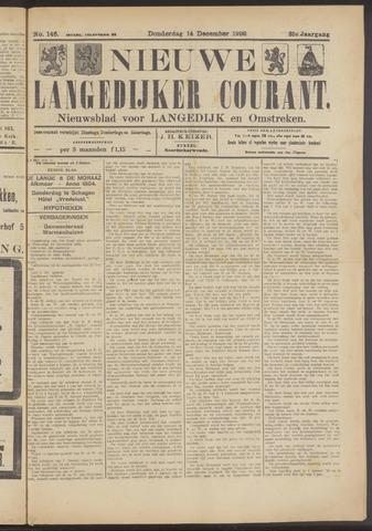 Nieuwe Langedijker Courant 1922-12-14