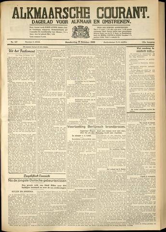 Alkmaarsche Courant 1933-10-19