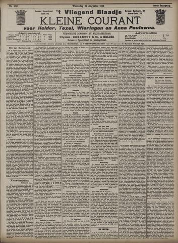 Vliegend blaadje : nieuws- en advertentiebode voor Den Helder 1908-08-26