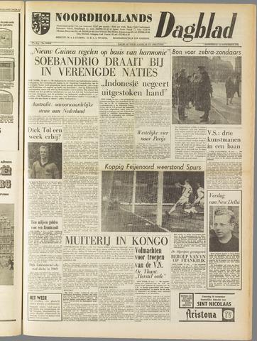 Noordhollands Dagblad : dagblad voor Alkmaar en omgeving 1961-11-16