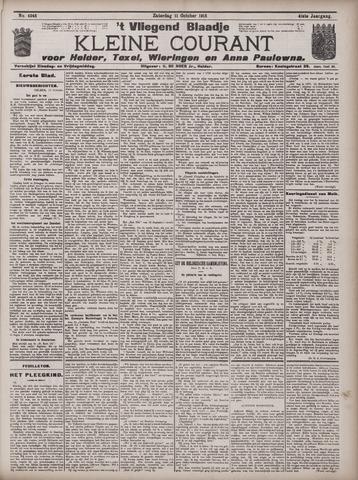 Vliegend blaadje : nieuws- en advertentiebode voor Den Helder 1913-10-11