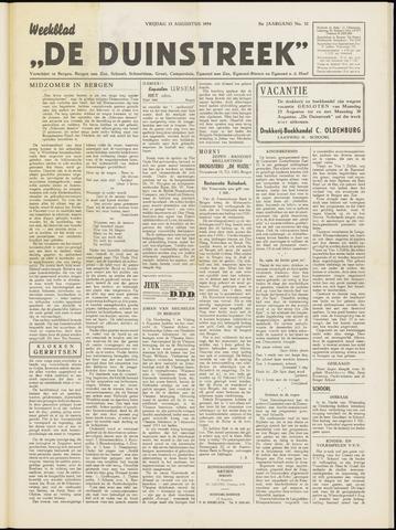 De Duinstreek 1954-08-13