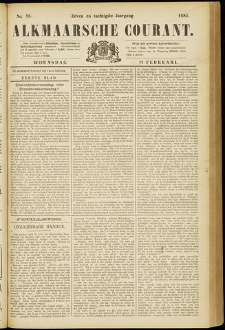 Alkmaarsche Courant 1885-02-11