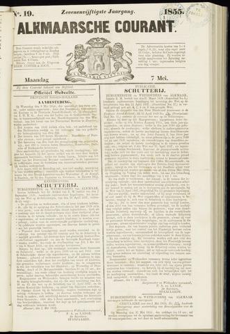 Alkmaarsche Courant 1855-05-07