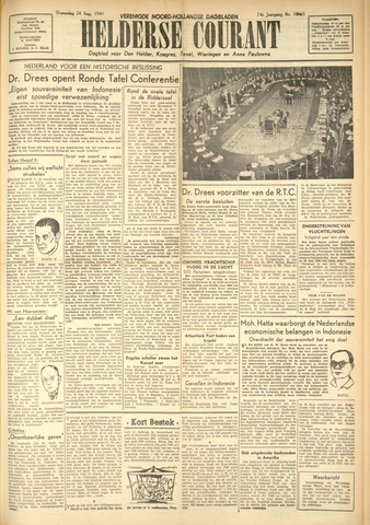 Heldersche Courant 1949-08-24