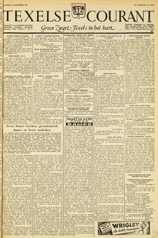 Texelsche Courant 1953-09-26