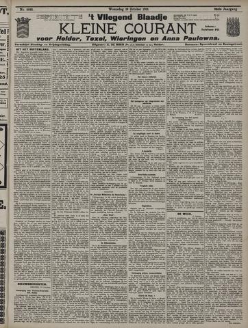 Vliegend blaadje : nieuws- en advertentiebode voor Den Helder 1910-10-19
