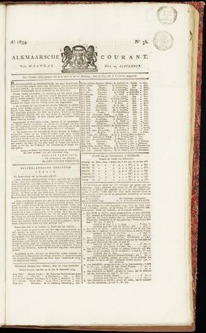 Alkmaarsche Courant 1834-09-22