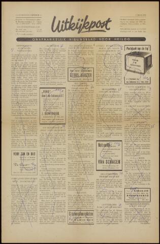 Uitkijkpost : nieuwsblad voor Heiloo e.o. 1958-05-30