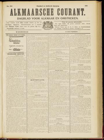 Alkmaarsche Courant 1911-10-04
