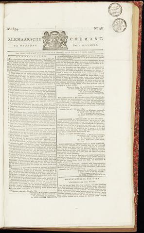 Alkmaarsche Courant 1834-12-01