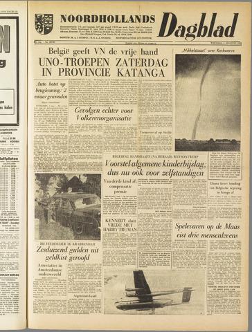 Noordhollands Dagblad : dagblad voor Alkmaar en omgeving 1960-08-03