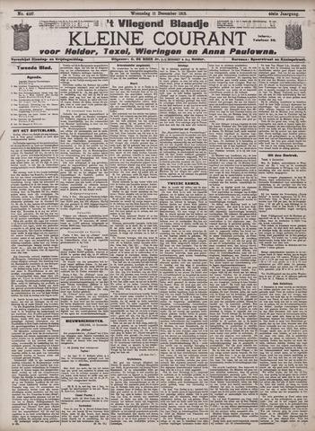 Vliegend blaadje : nieuws- en advertentiebode voor Den Helder 1912-12-11