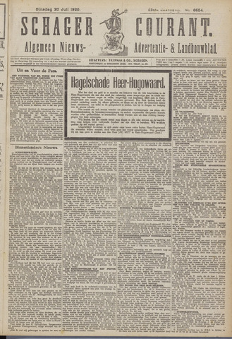 Schager Courant 1920-07-20