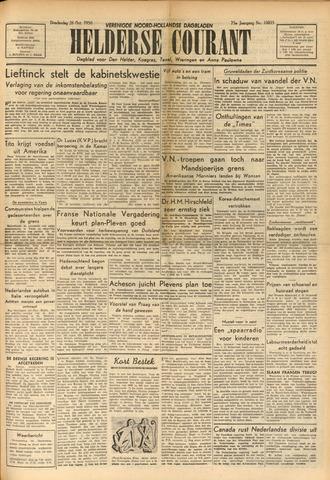 Heldersche Courant 1950-10-26