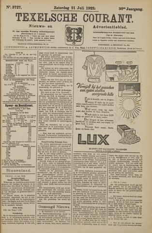 Texelsche Courant 1923-07-21
