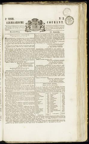Alkmaarsche Courant 1841-01-11