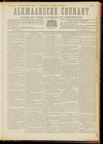 Alkmaarsche Courant 1919-08-11