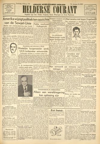 Heldersche Courant 1950-02-09