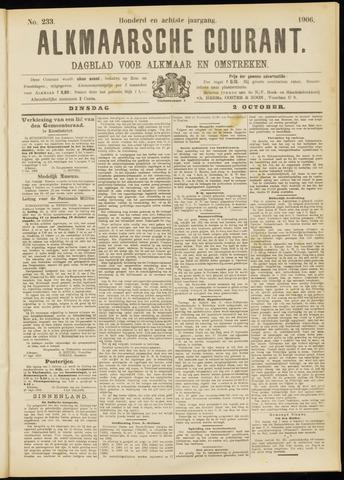Alkmaarsche Courant 1906-10-02