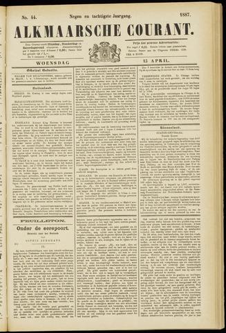 Alkmaarsche Courant 1887-04-13
