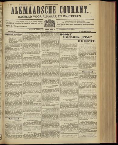 Alkmaarsche Courant 1928-09-07