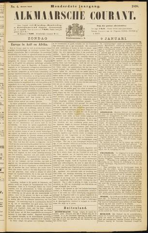 Alkmaarsche Courant 1898-01-09
