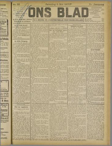 Ons Blad : katholiek nieuwsblad voor N-H 1917-05-05