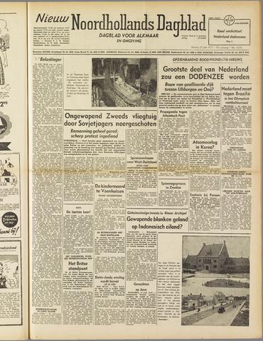 Nieuw Noordhollandsch Dagblad : voor Alkmaar en omgeving 1952-06-17