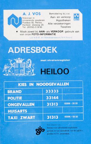 Adresboek van Heiloo 1974-01-01