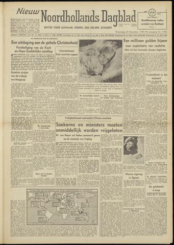 Nieuw Noordhollandsch Dagblad : voor Alkmaar en omgeving 1948-12-29