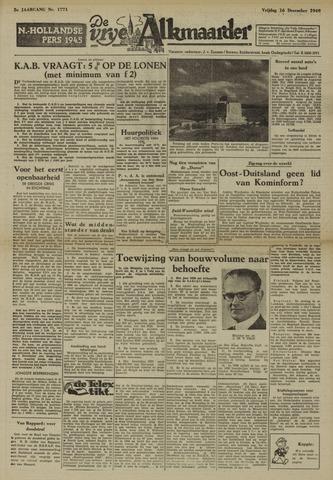 De Vrije Alkmaarder 1949-12-16